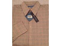 New greenwood MENS shirt large long sleeve