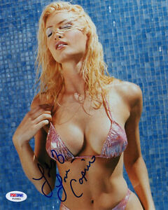 CAPRICE-BOURRET-SIGNED-AUTOGRAPHED-8x10-PHOTO-VERY-SEXY-BIKINI-PSA-DNA