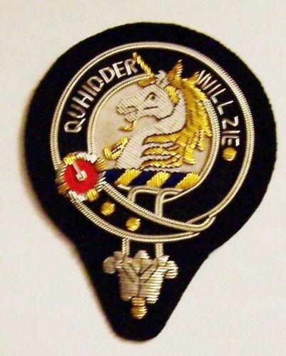 Royal Scottish Scotland Clan Stewart Crest Heraldry Family Name Arms COA Patch z