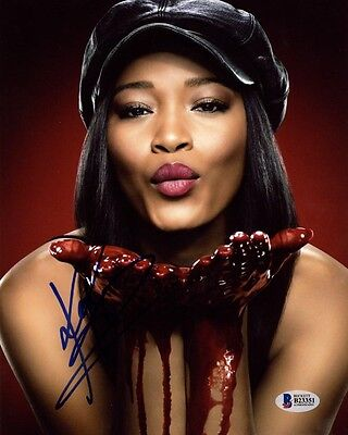 Keke Palmer Signed Autographed 8X10 Photo Zayday Scream Queens Rare Beckett Bas