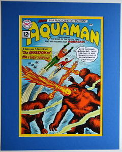 AQUAMAN-1-COVER-PRINT-Professionally-Matted-DC