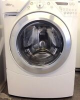 Whirlpool  Front Load washer with Steam Option.