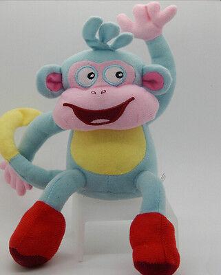 Lovely Dora The Explorer 10  Boots Monkey Soft Plush Stuffed Toy Dolls Gift