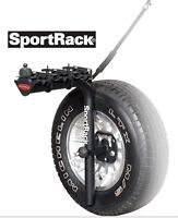 3 BICYCLE SPARE TIRE BIKE RACK
