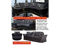 corner sofa or 3 plus 2 sofas all different prices all guaranteed