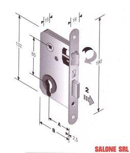 Serratura patent per porte interne foro yale entrata ebay - Serrature per porte interne prezzi ...