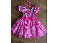 Disney store Minnie Mouse costume dress Age 4