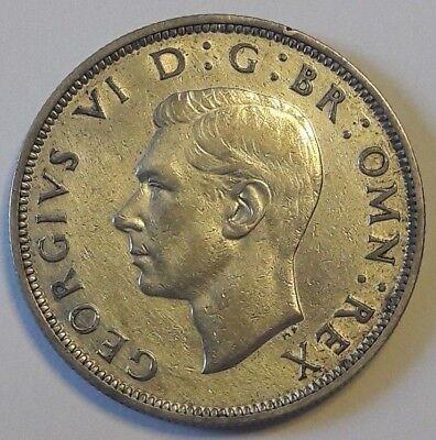 United Kingdom 1942 - Silver Coin - Half Crown - King George VI - Argent
