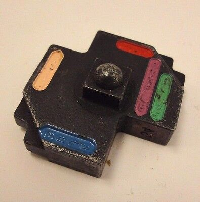 Thomas Betts 13475 Blue Pink Red Purple Olive Upper Crimping Die R4