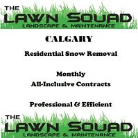 Residential Snow Removal - Monthly All-Inclusive Contracts