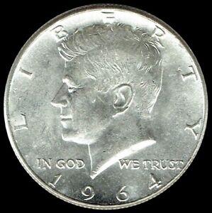 1964 P Kennedy Half Dollar 90% SILVER US Mint Coin