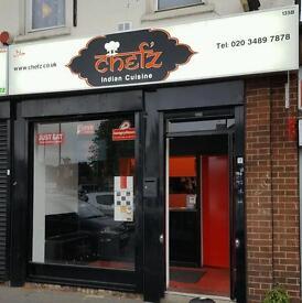 (Running Business) Chefz Indian