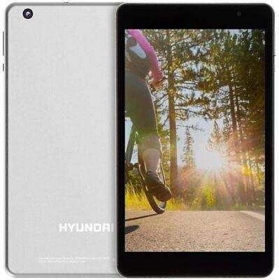 "Hyundai Koral 8W2 8"" Tablet HD IPS, RK3326, 2GB, 16GB, Wifi, Silver, Android 9.0"