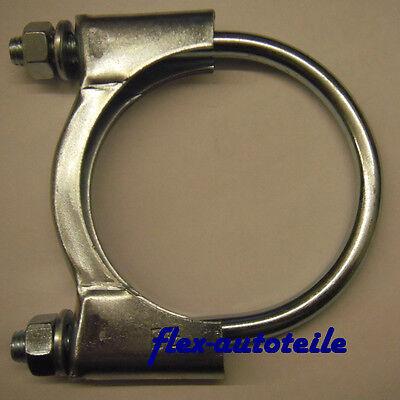 Bügelschelle Auspuffschelle Rohrschelle Schelle Auspuff Rohr M8 x Ø 50 mm online kaufen