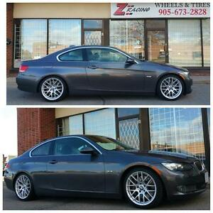18 Inch Rims Winter Tires BMW 3 Series F30 4 Series X1 $1699 + Tax PH 905 673 2828 (4Rim 4Tires)  Zracing