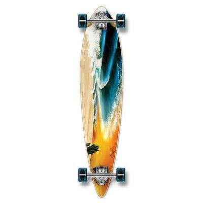Yocaher Pintail Beach Longboard Complete