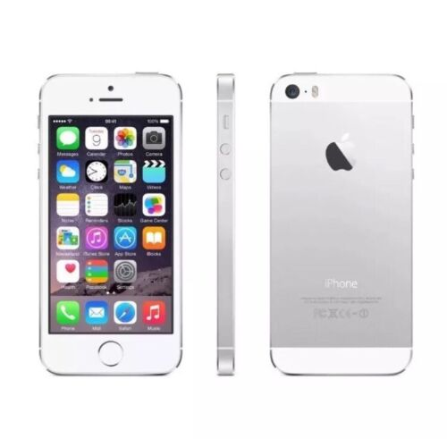 NEW OTHER (SEE DETAILS) APPLE IPHONE 5S - 16GB - WHITE/SILVER VERY GOOD   CONDITION EE LOCKED