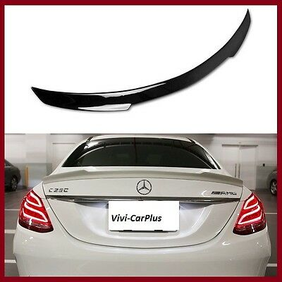 Painted 2015 On W205 M Benz C350 C300 C250 C63amg 4Dr V Type Trunk Boot Spoiler