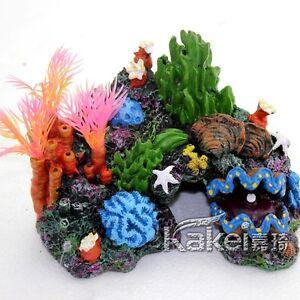 1pc fish tank aquarium decoration resin artificial sea. Black Bedroom Furniture Sets. Home Design Ideas