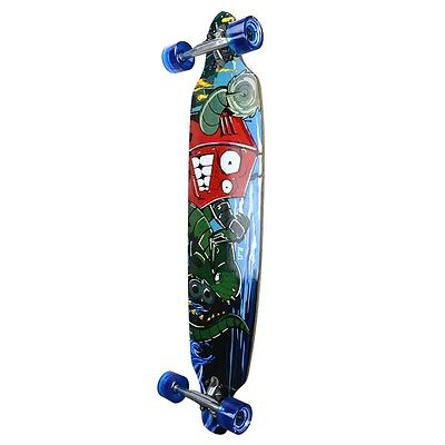 Yocaher Punked Drop Through Robot Longboard Complete