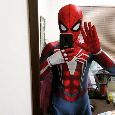Spandex Costumes For Kids (PS4 Insomniac Spiderman Costume Spandex Cosplay Spider Suit For)