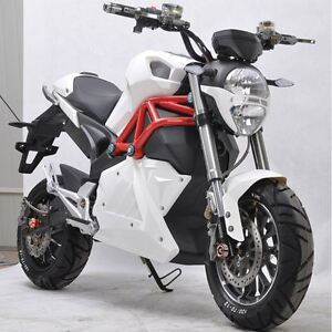 5000w Racing Electric Motorcycle with Disc Brakes 96v 60ah Batte