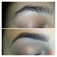 Eyebrow Threading by Lena