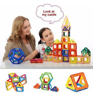 58PCS Magnetic Car Construction Building Toys Children Educational Blocks YA