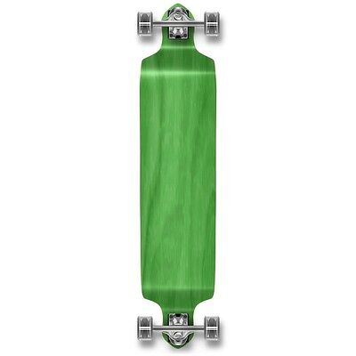 Yocaher Drop Down Blank Longboard Complete - Stained Green