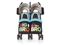 Cosatto Double Buggy - Big Bro, Little Bro