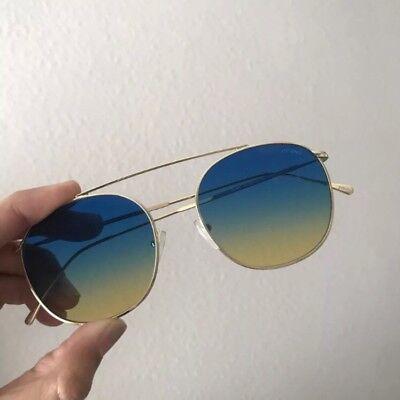 Illesteva Mykonos II Blue/yellow sunglasses womens