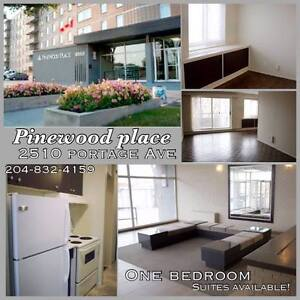 All Utilities included & 1 indoor parking stall JUL/AUG