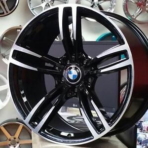Black Machine 19 Staggered M4 M3 Replica Wheels 19x8.5 19x9.5 ( 4 new $800 + tax) @Zracing 905 673 2828