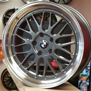 19 Inch Staggered Rims for BMW 3 Series . BBS LM Replica  $750 + Tax @Zracing (4New) 905 673 2828 ( 19x8.5 19x9.5 5x120