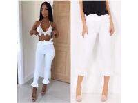 Size UK 12 - 14 frilly leggings ruffle trousers