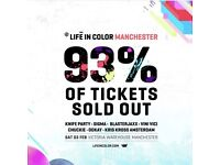 Life in Color tickets deals Availble