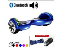 Blue Hoverboard Segway board Samsung battery Uk charger