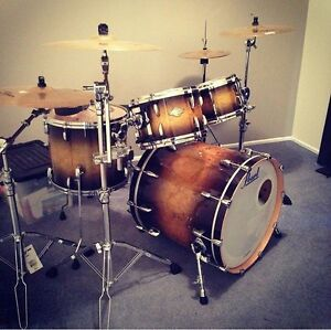 Pearl Masters kit with Ziljian A custom cymbals Bellerive Clarence Area Preview