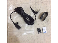 Microphone for car Bluetooth handsfree kit, pioneer, sony, jvc, alpine