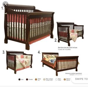 Crib and matching dresser/change table