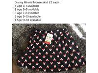 Disney Minnie Mouse Skirts