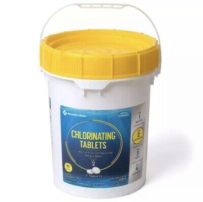 "Sams Members Mark 3"" Chlorine Swimming Pool Tablets 5 lbs 10 TABLETS ONLY Clorox"