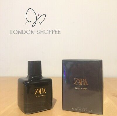 🎀 ZARA WOMEN BLACK AMBER Eau De Toilette (EDT) Fragrance Perfume 100ml🎀