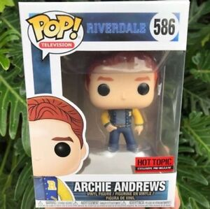 Archie Andrews Riverdale Funko Pop Hot Topic Exclusive New