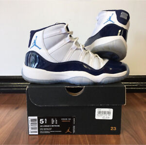 "AIR JORDAN 11 RETRO ""WIN LIKE 82"" SIZE 5.5Y"