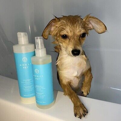 MONAT Pet Duo Gentle Cleansing Dog Wash and Freshen Up Deodorizing Spray NEW - Gentle Cleansing Spray