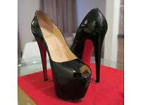 Christian Louboutin Highness 160mm Patent Calf UK 3.5/ EU 36 1/2.