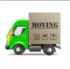 Removals service - man and van hire - home moves furniture moving big Luton van house clearances