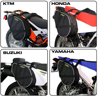 - Nelson Rigg Dirt Bike Saddle Bags Motorcycle Off Road Dual Sport Adventure ADV