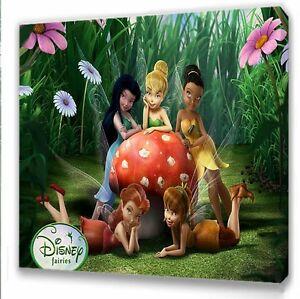 Disney Fairies Tinkerbell Kids bedroom canvas picture